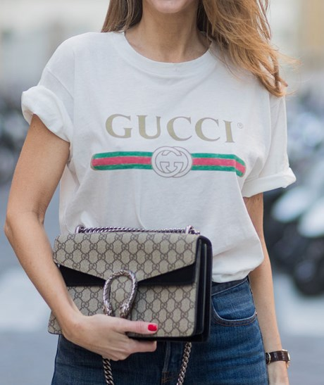Where To Buy The Gucci Logo T Shirt Bloggers Love