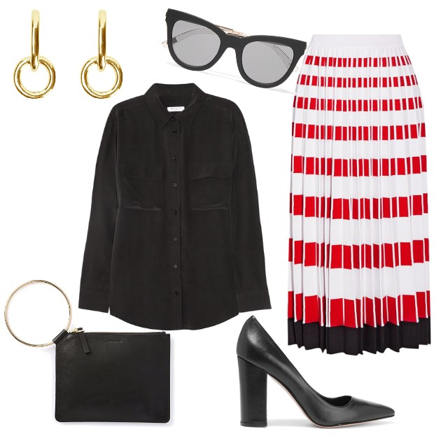 How To Wear A Statement Skirt