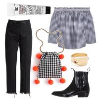 How to: Gingham on Gingham