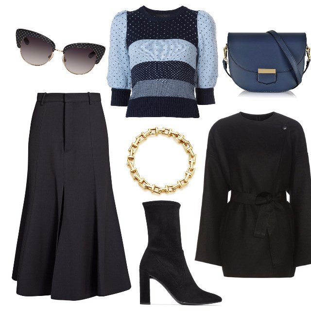 How To Wear A Skirt In Winter