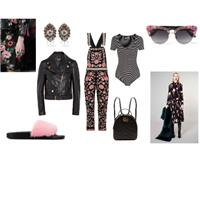 Marie Claire Search for a stylist Look 3: Dark Florals