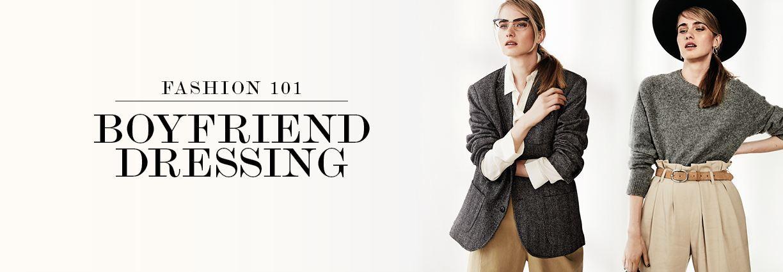 How to borrow from the boys - this season's menswear dressing fashion trend