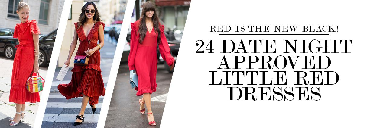 Red is the new black! We've found the best little red dresses to shop now