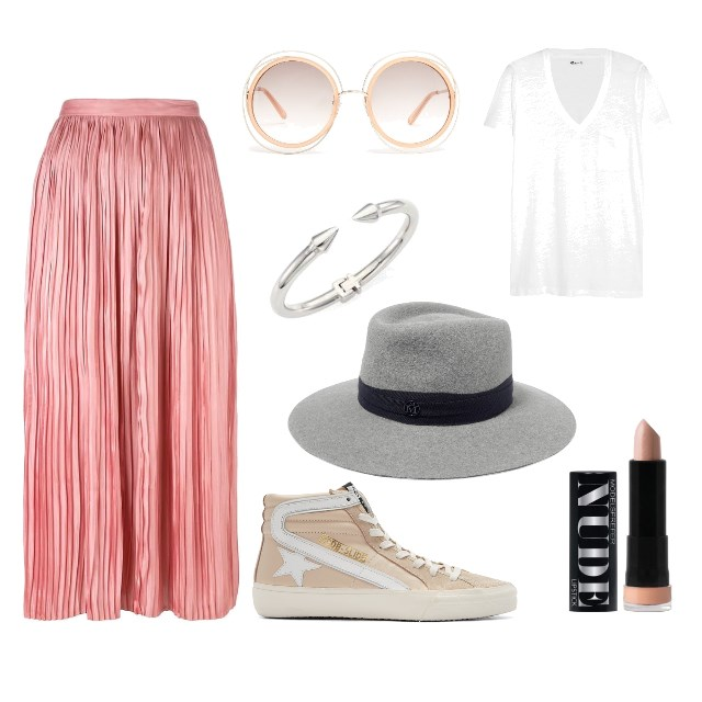 PLEATS & SNEAKS -  JAZZING UP YOUR WEEKEND STYLE