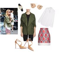Khaki x Floral: Insp. by Olivia Palermo