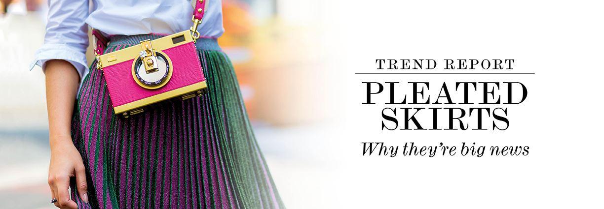 Trend report - Pleated Skirts - Why they're big news