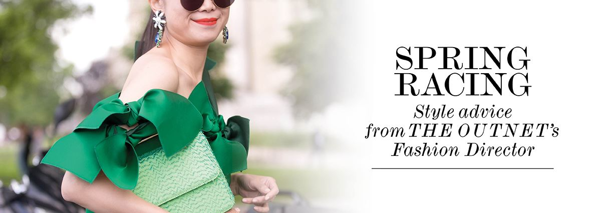 spring racing fashion and style advice from the outnet's fashion director