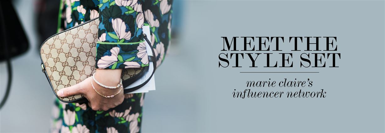 Meet the style set: marie claire's influencer network