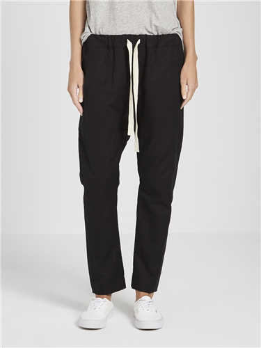 cotton slub relaxed pant ll