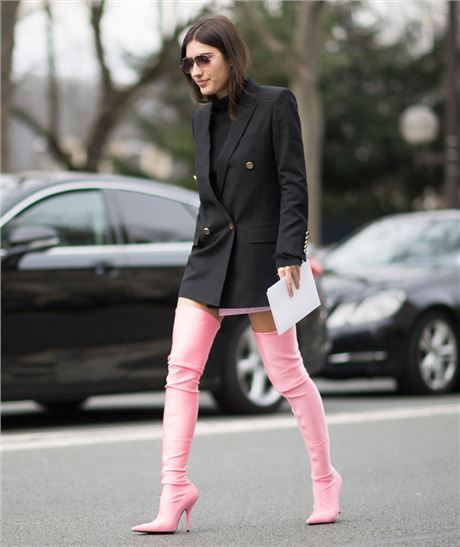 Celebrities Like Miranda Kerr Wearing Balenciaga Over The