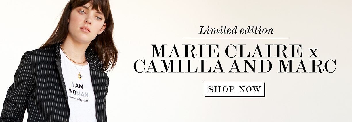 Where to buy the marie claire x camilla and marc x Our Watch charity slogan t-shirt