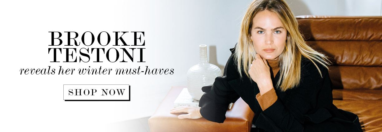 Fashion blogger Brooke Testoni shares her winter wardrobe essentials
