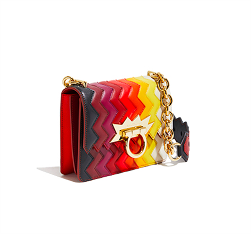 Zigzag Mini Flap Bag