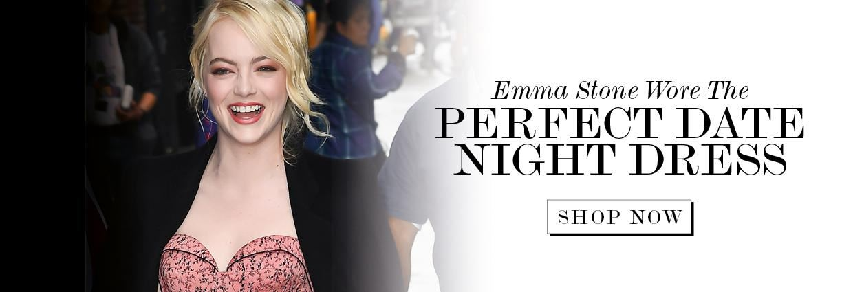 Emma Stone Just Wore The Most Perfect Date Night Dress