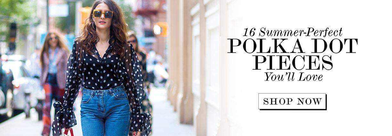16 Summer-Perfect Polkadot Pieces You'll Love
