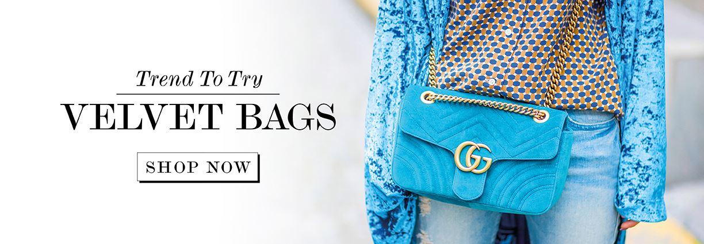 Trend To Try: Velvet Bags