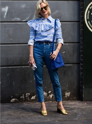 Street Style Denim Fashion