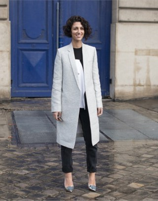 Yasmin Sewell does tailoring