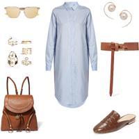 shirt dress- day look