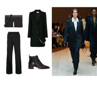 Trending Now; Slouchy Pantsuits