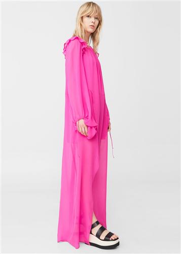 Mango 100% silk dress