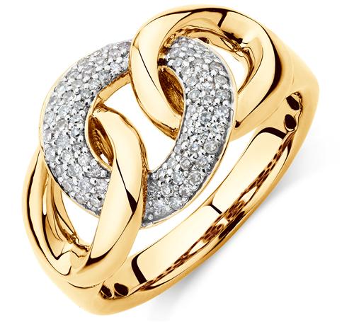 ¼ carat diamond ring