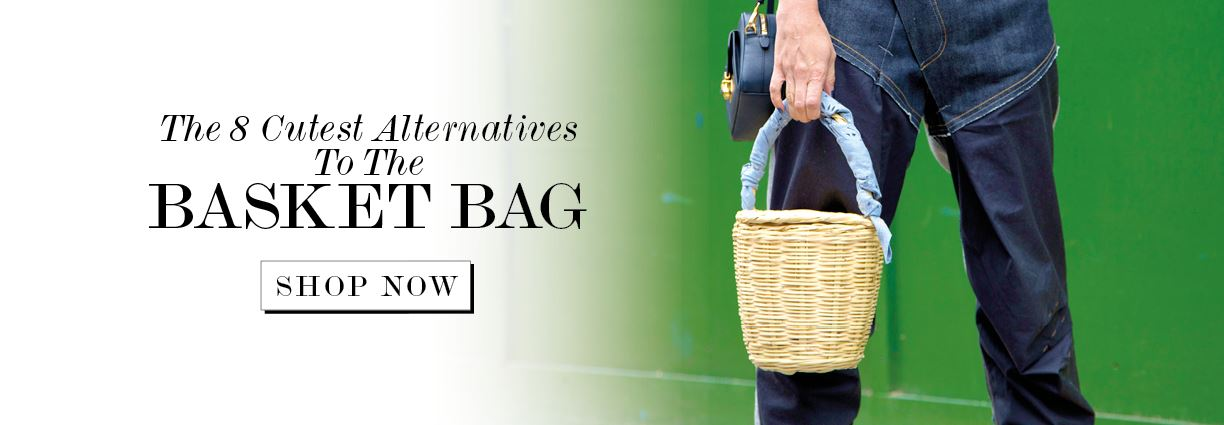The 8 Cutest Alternatives To The Basket Bag