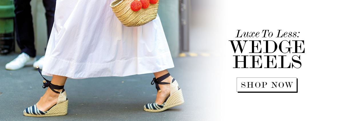 Luxe To Less: Wedge Heels