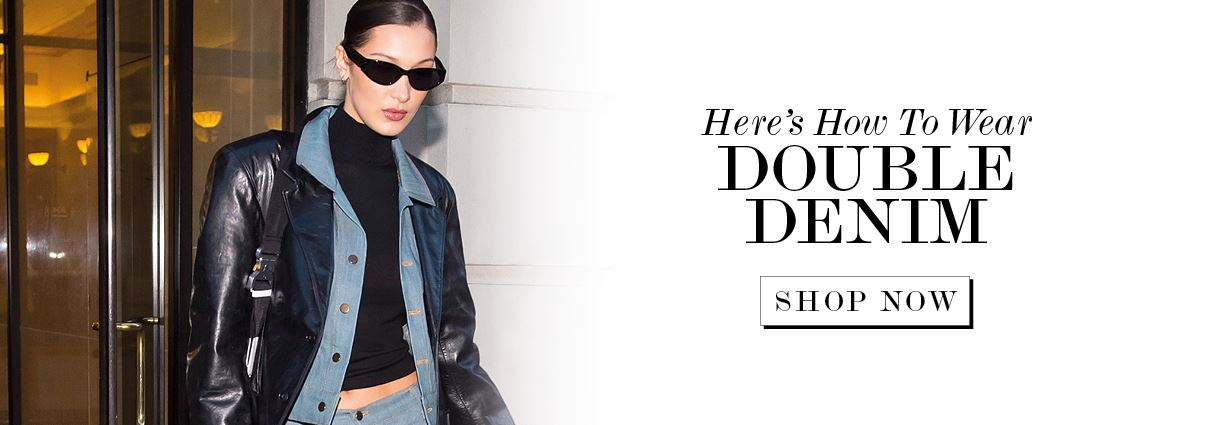 Here's How To Wear Double Denim